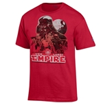 Men's Champion T-Shirt UNM Star Wars Empire Red