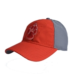 Women's The Game Cap Lobo Paw Print Red/Gray