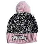 The Game Pom Pom Beanie NM Pink/Black