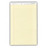 "Naturesaver Legal Rule Pad Yellow 8.5""x11"""