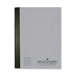 "Environotes Quad Rule Composition Book 9.75""x7.5"" 80 Sheets"