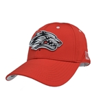 Men's The Game Cap Side Lobo Red