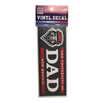 "SDS Decal UNM DAD Lobos Shield 6"" x 2"""