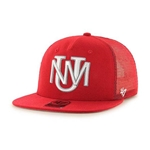 Men's Gravel Pit 47 Captain RF  UNM Logo Red
