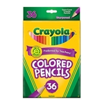 Crayola Colored Pencils Assorted 36 Pack