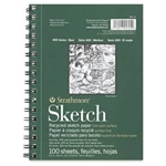 "Stathmore Sketch Book Spiral 5.5 x 8.5 "" 100 Pages"