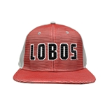 Men's  The Game Cap Reverse Trucker Lobos Grey