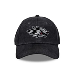 Men's The Game Cap Side Wolf Tough Skin Black