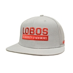 Men's Nike Cap The University of New Mexico Lobos Grey
