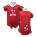 Infant Third Street Onesie New Mexico & UNM Shield Red