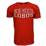 Men's CI Sport T-Shirt New Mexico Lobos & Paw Red