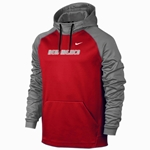 Women's Nike Hood New Mexico Grey & Red