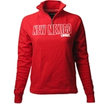 Women's Jansport Jacket 1/4 Zip New Mexico Lobos Red