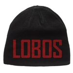 Zephyr Beanie Lobos & Old School Louie Reversible Grey & Black