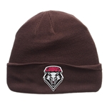 Zephyr Beanie UNM Shield Grey