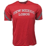 Men's Champion T-Shirt New Mexico Lobos Red