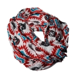 Women's Zoozatz Scarf UNM Shield Southwest Design