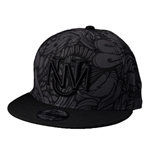 Men's New Era. Snapback Hispanic Heritage Month UNM Interlocking Logo Black
