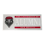 SDS Decal UNM Shield Alumni University of New Mexico