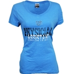 Women's CI Sport T-Shirt UNM Interlocking Logo Physical Assistant Turquoise