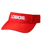 Women's The Game Visor Lobos Red