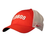 Men's Nike Cap Lobos Red & White Mesh