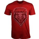 Men's CI Sport T-Shirt UNM Shield Red