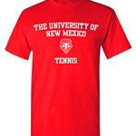 Ouray T-Shirt UNM Tennis Red