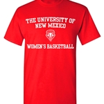 Ouray T-Shirt UNM Women's Basketball Red