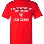 Ouray T-Shirt UNM Cross Country Red