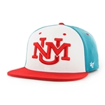 Men's Regime 47 Pro UNM Logo White/Turquoise/Red