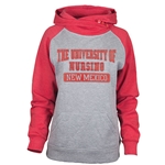 Women's Ouray Hood University of New Mexico Nursing Red & Grey