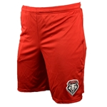 Men's Russell Shorts UNM Shield Red
