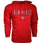 Men's CI Sport Hood New Mexico Lobos Side Wolf Red