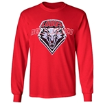 Men's CI Sport Long Sleeve T-Shirt New Mexico & Shield Red
