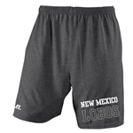 Men's Russell Shorts New Mexico Lobos Heather