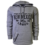 Men's Russell Hood True Athletic Dominance New Mexico Lobos 7 Side Wolf Gray