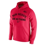 Men's Nike Hood New Mexico Or Nothing & Side Wolf Red