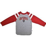 Toddler Third Street Long Sleeve T-Shirt University of New Mexico & Lobos Shield Gray