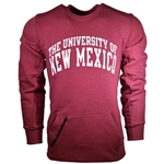 Men's Russell Crew Sweatshirt University Of New Mexico Red