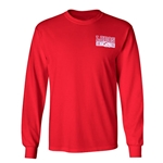 Men's CI Sport Long Sleeve T-Shirt New Mexico Lobos 1889 Side Wolf Red