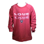 Youth Colosseum Pullover Love & Lobos Shield Red