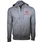 Men's League Jacket UNM Logo University of New Mexico Heather