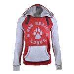 Women's Camp David Hood New Mexico Lobos Paw Red/Grey