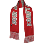 LogoFit Scarf Reversible New Mexico Lobos Red/Grey