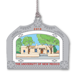 2018 Offical UNM Holiday Ornament Bandelier Hall