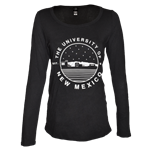 Women's Uscape Long Sleeve T-Shirt UNM Skyline Black