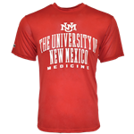Men's Holloway T-Shirt UNM Medicine Red
