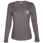 Women's StepForward Long Sleeve T-Shirt UNM Logo Grey