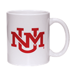 R&D Coffee Mug UNM Logo Red/White